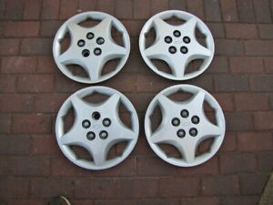 Qty 4 Oem 2000 05 Chevy Cavalier 14 Bolt On Hubcaps Wheel Covers Gm 9594639