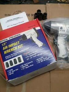 Central Pneumatic 1 2 Air Impact Wrench New