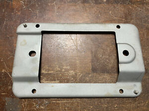 80 86 1980 1986 Ford Truck Bronco Dash Radio Bezel Metal Faceplate Bracket