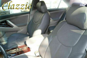 Clazzio Synthetic Leather Seat Covers For Toyota Camry Front Rear
