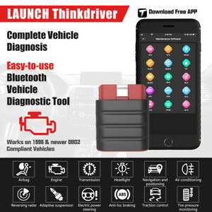 Bluetooth Obd2 Scanner Ios Android Automotive Diagnostic Scan Tool Code Reader