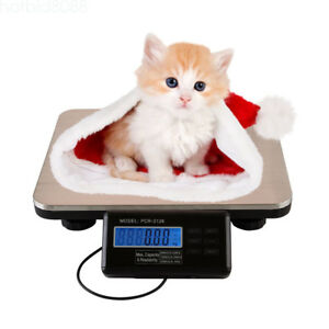 Commercial Scales Digital Platform Scale Postal Scale Lcd 0 1kg 300kg Pet Weigh