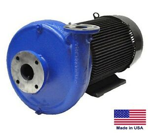 Straight Centrifugal Pump 25 500 Gph 15 Hp 208 230 460v 3 In 2 Out