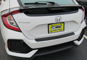 Rear Bumper Surface Protector Cover Fits 2016 2020 16 20 Honda Civic Hatchback