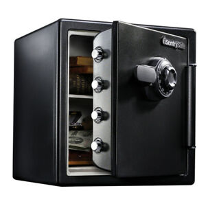 Sentrysafe Sfw123cs Fire resistant Safe And Waterproof Safe With Dial Combinatio