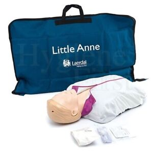Laerdal Little Anne Manikin Cpr aed Light Skin