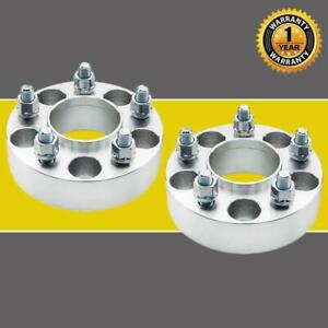 2pc Hubcentric 1 5 Thick 5x4 5 71 5mm Wheel Spacers 1 2 X20 For Jeep Liberty