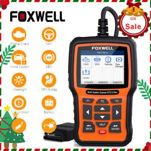 Foxwell Nt510elite Fr Bmw Mini Diagnostic Scanner Tool Abs Srs Code Reader Nt530