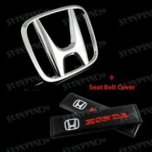 Front Grille h Emblem Combo For 2009 2011 Honda Civic Sedan 2009 2013 Fit