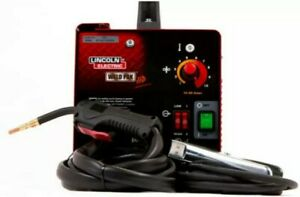 Portable Weld Pack Hd Wire Feed Welder Lincoln Electric 115v 35 88amp Flux Cored