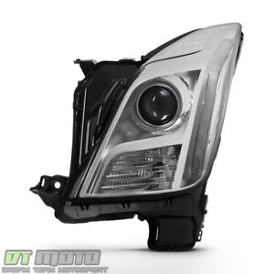 driver Side 2013 2017 Cadillac Xts Hid Xenon Non afs Led Headlight Replacement