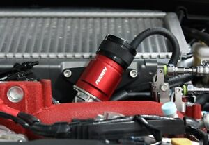 Red Perrin Recirculation Blow Off Valve Kit For 02 07 Wrx 04 17 Sti