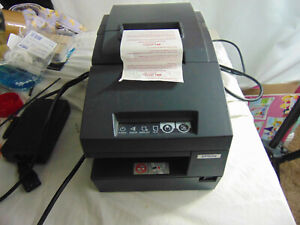 Epson Tm h6000iii M147g Usb Pos Thermal Receipt Printer tested Works