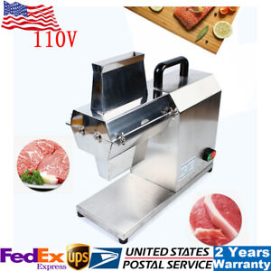Commercial Electric Meat Tenderizer Machine Beefsteak Machine Stainless 750w Usa