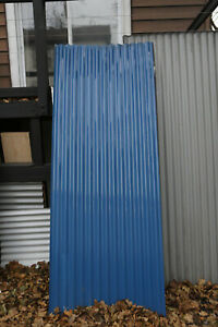 3 4 Corrugated Metal Roofing Panels Sheets 26 Gauge Blue 8