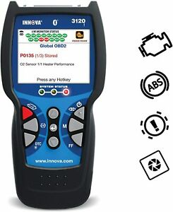 Innova 3120f Vehicle Computer Diagnostic Scan Tool code Reader For Obd1 Obd2