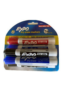 Expo Original Dry Erase Markers Chisel Tip Intense Colors 1 Six Pack Low Odor