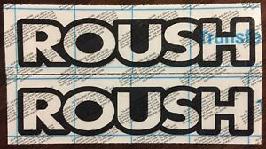 Roush Outline Decal Sticker Mustang F 150 P 51 Rs 18 Colors To Choose