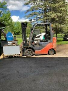 2008 Toyota 5 000 Forklift Used 42 Forks 4 800 Or Best Offer