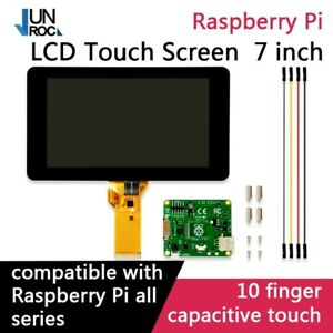 Raspberry Pi 7 Touch Screen Display With 10 Finger Capacitive Touch
