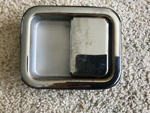 One Used Chrome Door Exterior Outside Handle 87 06 Jeep Wrangler Yj