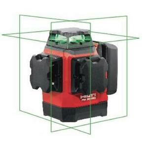 Laser Level Multi Line Green Self Leveling Magnetic Bracket Case 131 Ft Hilti