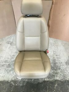 2009 Cadillac Escalade Front Passenger Seat Tan Leather Oem