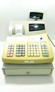 Sharp Xe a202 Electronic Cash Register With Keys Manual Tested Works Great
