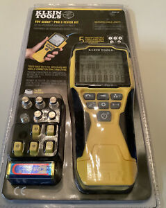 Klein Tools Vdv Scout Pro 3 Tester Kit Vdv501 851 Brand New Sealed In Package