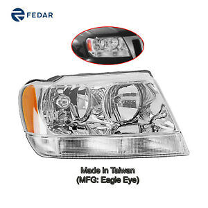 Headlight Lamp Fit Jeep Grand Cherokee 1999 2004 Limited 02 04 Overland Right