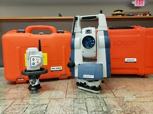 Robotic Total Station Sokkia Srx 5x With Rc pr4 And Prism