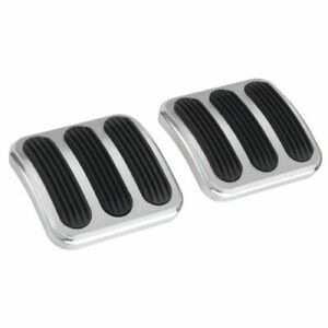 Lokar Bag 6174 Brake And Clutch Pedal Pad Set With Rubber Insert pair New