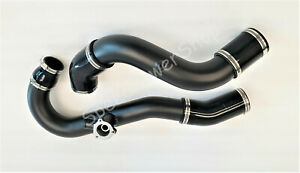 Aluminum Charge Pipe Kit Hot Cold Side For Ford Mustang Ecoboost 2 3t 2015