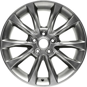 10119 New Compatible Aluminum Wheel 17x7 5 Fits 2016 2018 Ford Fusion