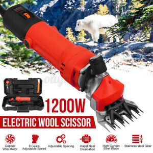 1200w Electric Farm Supplies Sheep Goat Shears Shearing Grooming Clipper Cutter