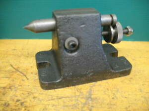 Tail Stock Foot Stock 3 1 4 Center Height 1 1 2 travel Indexer Dividing Head