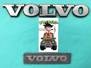 1983 1991 Volvo 240 Rear Side Fender Emblem Badge Symbol Logo Sign Oem 1991