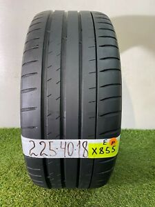 225 40 18 92y Used Tire Michelin Pilot Sport 4 S 5 1 32nds X855