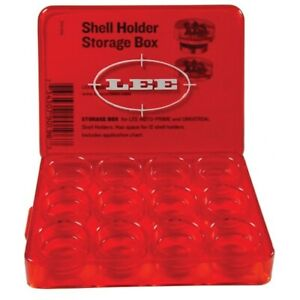 Lee Auto Prime Shell Holder Storage Box Holds 12 Shell Holders 90196 $10.65