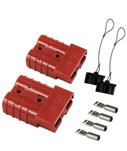 Hyclat Red 6 10 Gauge Battery Quick Connect Disconnect Wire Harness Plug Conn