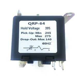 Universal Potential Relay 395 Voltage 245 275 Pick Up 140 Drop Out 60hz