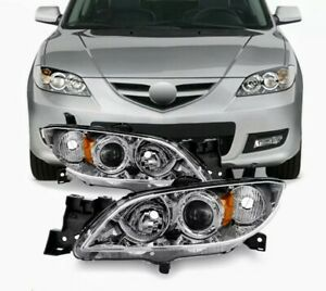 2003 2008 Mazda 3 Sedan Headlights