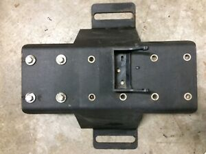 Troy Center Console Floor Plate Ford Crown Victoria Police Interceptor 98 2011