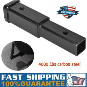 For 2in Receiver Extender 8in Trailer Hitch Extension 5 8 In Pin Hole Towing Us