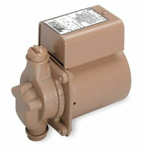 Taco 1 40 Hp Bronze In Line Wet Rotor Hot Water Circulator Pump 006 bc8y