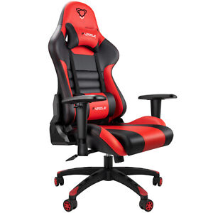 Ergonomic Racing Gaming Chair Office Computer Executive Chair Seat Pu Leather Us