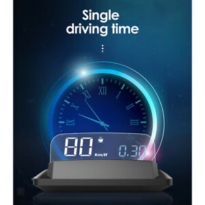 Universal 5in Car Head Up Display Gps With Display Board Over Speed Alarm