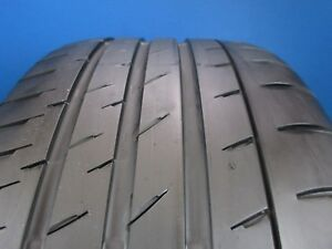 One Used Continental Contisport Contact 3e Ssr 275 40 18 6 32 Tread D1620