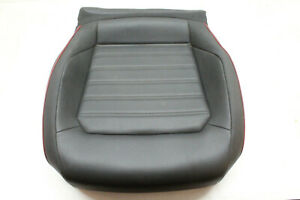 15 Vw Jetta Gli Front Right Lower Seat Cushion Red Line Carbon 11 13 14 15 16 17