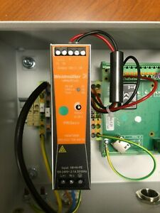 Weidmuller Power Supply Pro Eco 72w 24v 3a 1469470000 With Brankamp Box